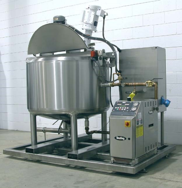 Portable Heated Mixing Kettle Skids by R-CAP - R-Cap Process