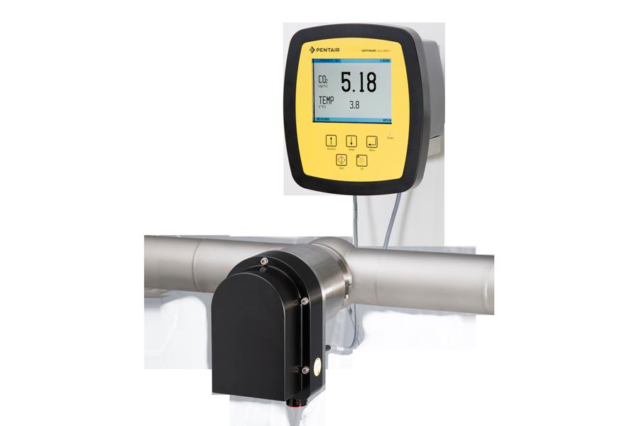 Haffmans Optical In-line CO2 O2Meter AuCoMet-i